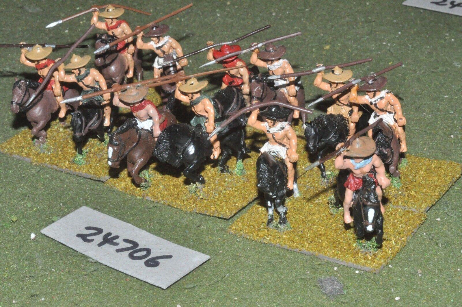 25mm classical   greek - light 12 figures - cav (24706)