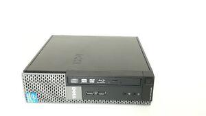 Dell Optiplex 990 Intel i5-2400S 2.50GHz 4GB 250GB Blu-Ray Writer Drive USFF W7