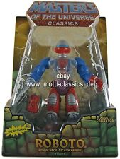 Roboto 2nd 2010 MOC Masters of the Universe Classics NEU & OVP RAR SELTEN motu