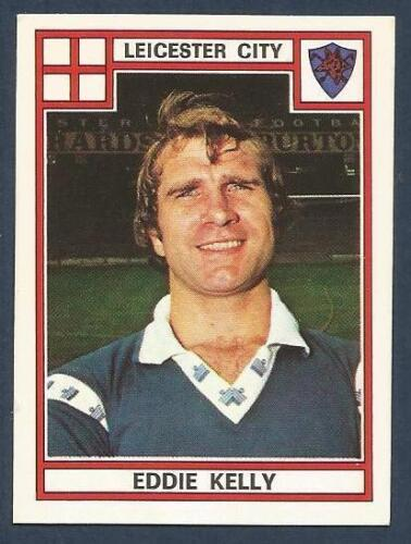 PANINI FOOTBALL 78 #186-LEICESTER CITY-QUEENS PARK RANGERS-ARSENAL-EDDIE KELLY