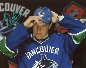 BO-HORVAT-Authentic-Hand-Signed-034-Vancouver-Canucks-034-8x10-Photo