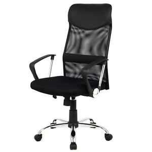 Modern Ergonomic Mesh High Back Executive Computer Desk Task Office