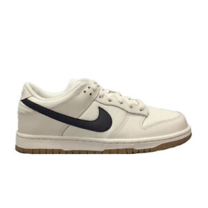 reputable site aafdc 5f9bd Image is loading NIKE-DUNK-LOW-CANVAS-TRAINERS-WHITE-BLACK-AA1056-