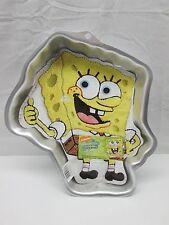 Wilton 2105-5130 SpongeBob Squarepants Cake Pan w/ Instruction Sheet (Z2)