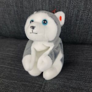 TY Beanie Babies Collectible Rare (Nanook) Siberian Husky Dog Great Condition