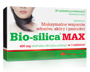 BIO-SILICA Max 400 mg, tablets for hair, skin and nails, 30 pieces - Staporków, Polska - BIO-SILICA Max 400 mg, tablets for hair, skin and nails, 30 pieces - Staporków, Polska