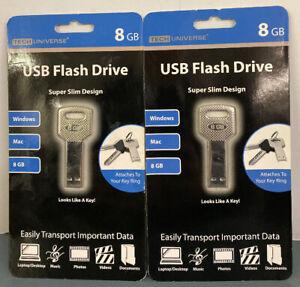 Tech Universe 8GB USB Key Flash Drive