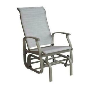 PAGODA Sienna SINGOLO Rocker sedia a dondolo da giardino reclinabile Lounge Sun Nuovo