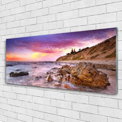Acrylglasbilder Wandbilder aus Plexiglas® 125x50 Boote Meer Landschaft