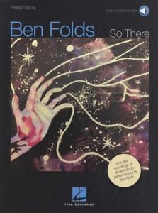 Ben Folds Il Y Piano Vocal Sheet Music Book With Audio F10-d-a Pas Fan-afficher Le Titre D'origine Clair Et Distinctif