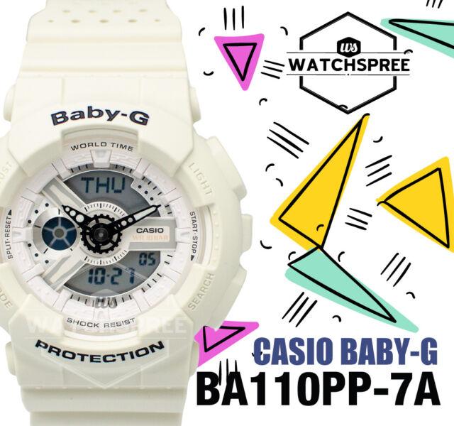 Casio Baby-G new Punching Pattern BA-110 Series Watch BA110PP-7A