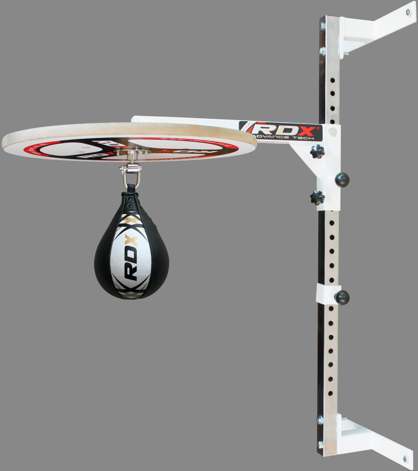 RDX Adjustable Speed Ball Platform Stand Boxing Bag Set Swivel SpeedBall MMA WD
