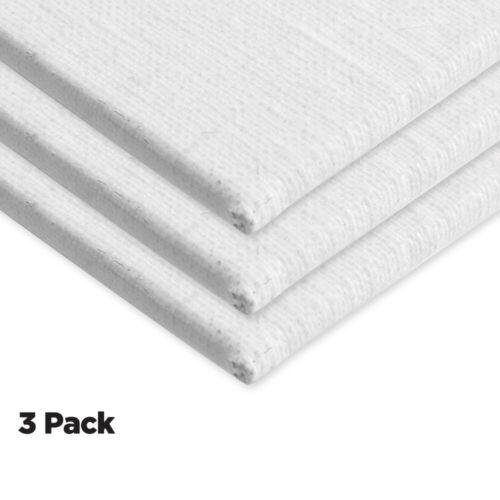 """Centurion All-Media Primed Linen Panels 3-Pack 20x24/"""""""