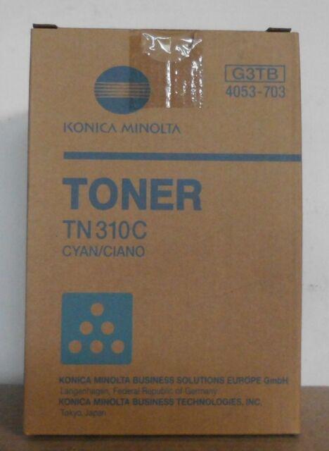 Konica Minolta Toner TN310C cyan  4053-703 bizhub C340 C350 C351 C450 CF2203  C