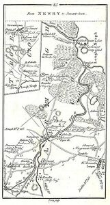 Antique-map-Roads-from-Tanderagee-to-Stewartstown-amp-Dundalk-to-Portrush-1