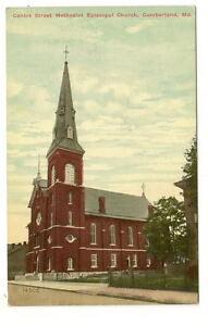 CUMBERLAND-MD-Methodist-Episcopal-Church-Centre-St-Vtg