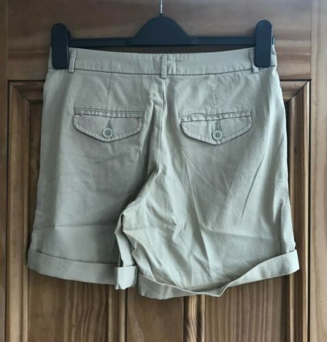 Benetton New Black Navy Blue White Grey Beige Cotton Textured Chino Shorts 6-18