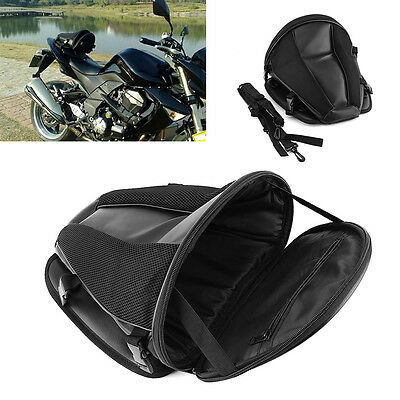 Motorcycle Waterproof Back Seat Carry Bag Tail Hand Storage Bag Saddlebag New ZY