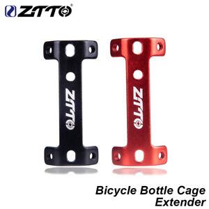 Bike Water Bottle Cage Aluminium Alloy Double Water Bottle Holder Expander