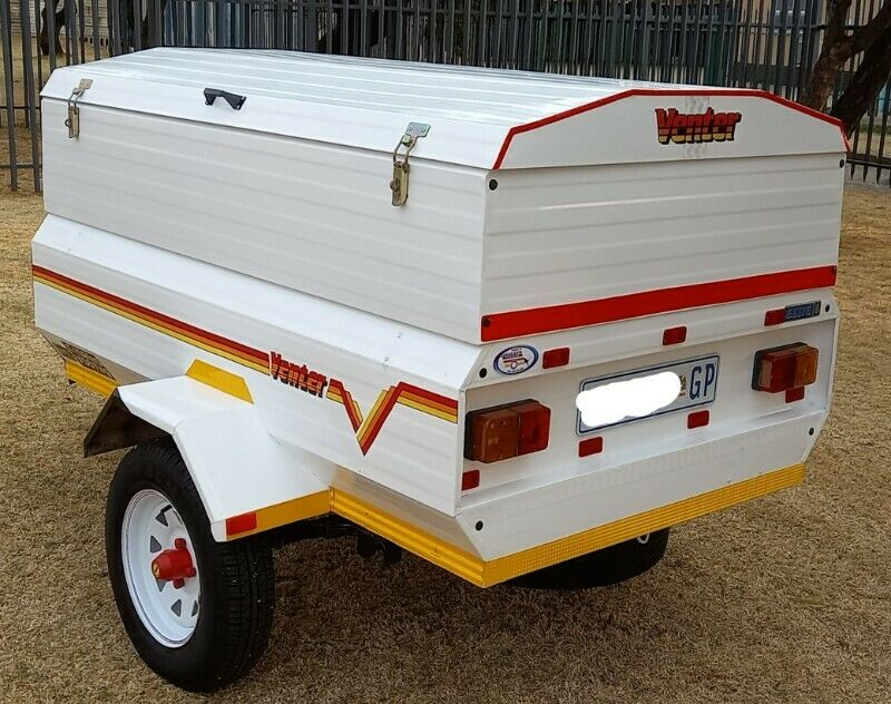 Venter Elite 6 Trailer with Extension.