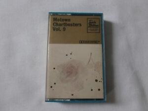 MOTOWN-CHARTBUSTERS-VOLUME-9-RARE-1974-UK-TAMLA-CASSETTE-TAPE-PAPER-LABELS