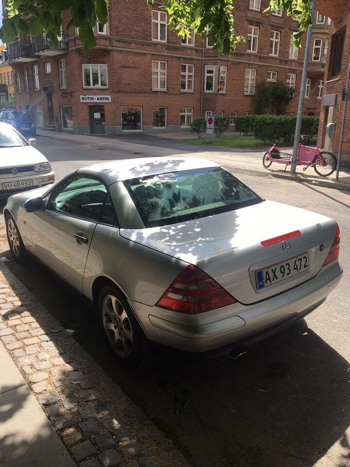Mercedes SLK230, 2,3 Komp. aut., Benzin