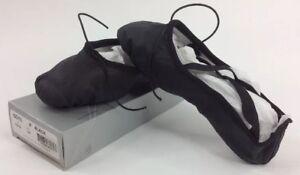 So-Danca-Ballet-Shoes-Professional-Leather-Split-Sole-Black-Youth-Sizes-SD10-NIB