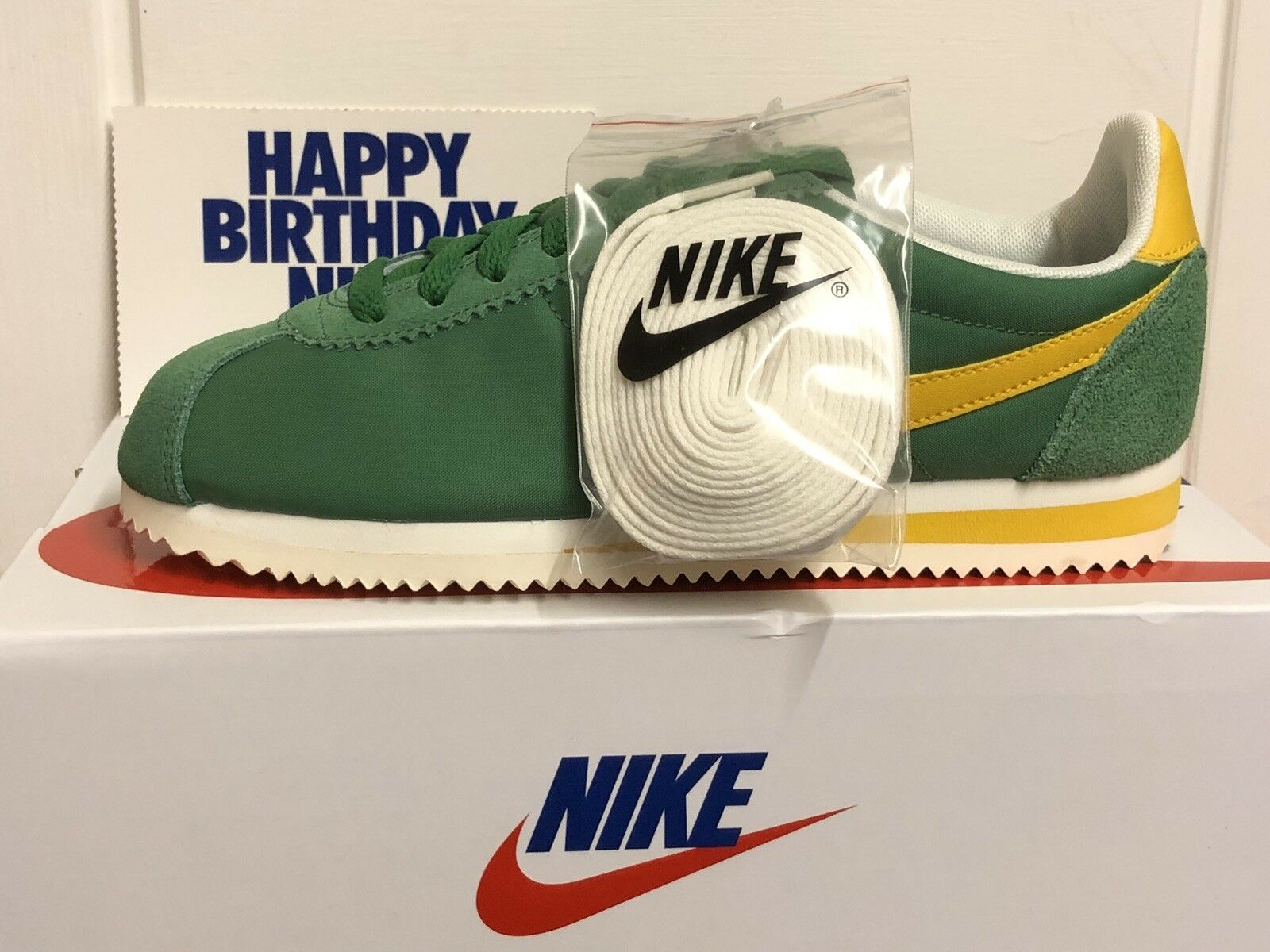 NIKE CLASSIC CORTEZ NYLON PREM TRAINERS SNEAKERS SHOES US 7,5