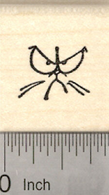 Christmas Grumpy Cat Reindeer Rubber Stamp G23005 WM