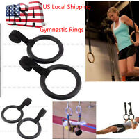 Crossfit Gym Strength Training Fitness Gymnastic Rings Olympic Rings With Straps