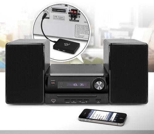 Aluratek iStream Universal Bluetooth Audio Receiver Black