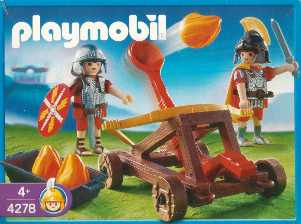 PLAYMOBIL® 4278 - Feuerkatapult NEU