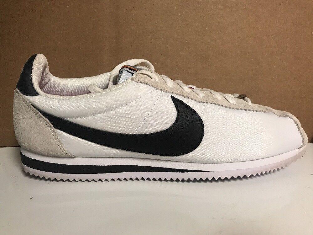Men's Nike Classic Cortez BT QS Be True LGBT White Rainbow 902806 100 Size 12.5