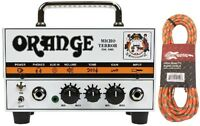 Orange Mt20 20 Watt Micro Terror Mini Lunchbox Guitar Head Amp W/tweed Cable on sale