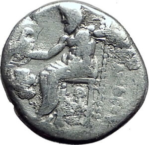 ALEXANDER-III-the-GREAT-323BC-Authentic-Ancient-Silver-Greek-Coin-w-Zeus-i64826