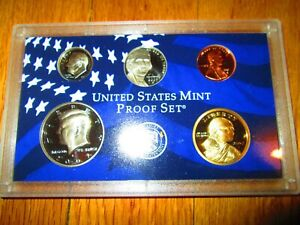 2007-Partial-Proof-Set-5-Coins-U-S-Mint-Plastic-No-Box-No-COA