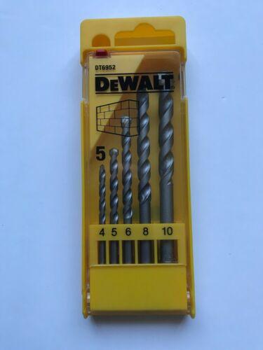 Dewalt masonry drill bit set DT6952