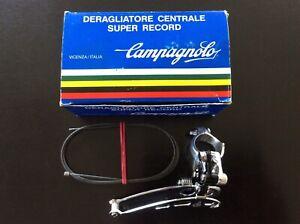 NOS/NIB Campagnolo Super Record front clamp on derailleur.