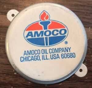 Vintage Amoco Oil Gas Barrel nos Seal Cap USA Chevy Ford Dodge Buick Pontiac GM