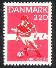 Denmark 1989 Football/Soccer/Sports/Games/Animation 1v (n34537)