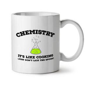 Chemistry Cooking NEW White Tea Coffee Mug 11 oz | Wellcoda