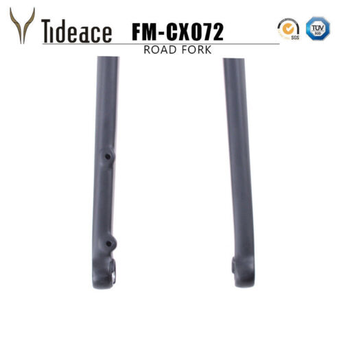 CX072 100*15mm Carbon Road Bike Fork T800 Carbon Racing Bicycle Forks 28.6mm