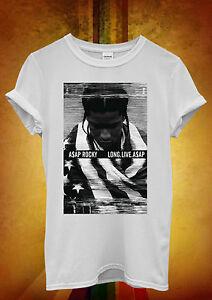 RéAliste Asap Rocky Long Live Drôle Hipster Cool Hommes Femmes Unisexe T Shirt Débardeur Débardeur 2-afficher Le Titre D'origine