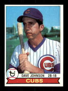 1979 Topps #513 Dave Johnson NM/NM+ Cubs 517531