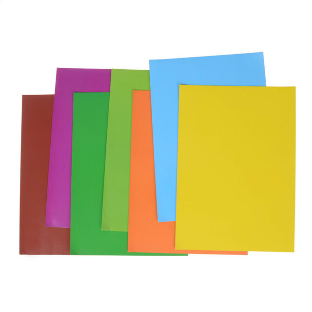 7 Color Rubber Magnet Self Adhesive Flexible Magnetic Sheet A4 Magnetic Paper BL