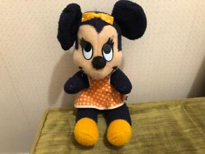 Vintage Walt Disney Minnie Mouse Stuffed Animal Doll C 1950 S 60 S