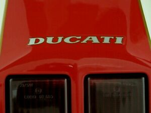DUCATI 916 DECAL DUCATI  REAR SEAT  SCRIPT- EARLY MODELS