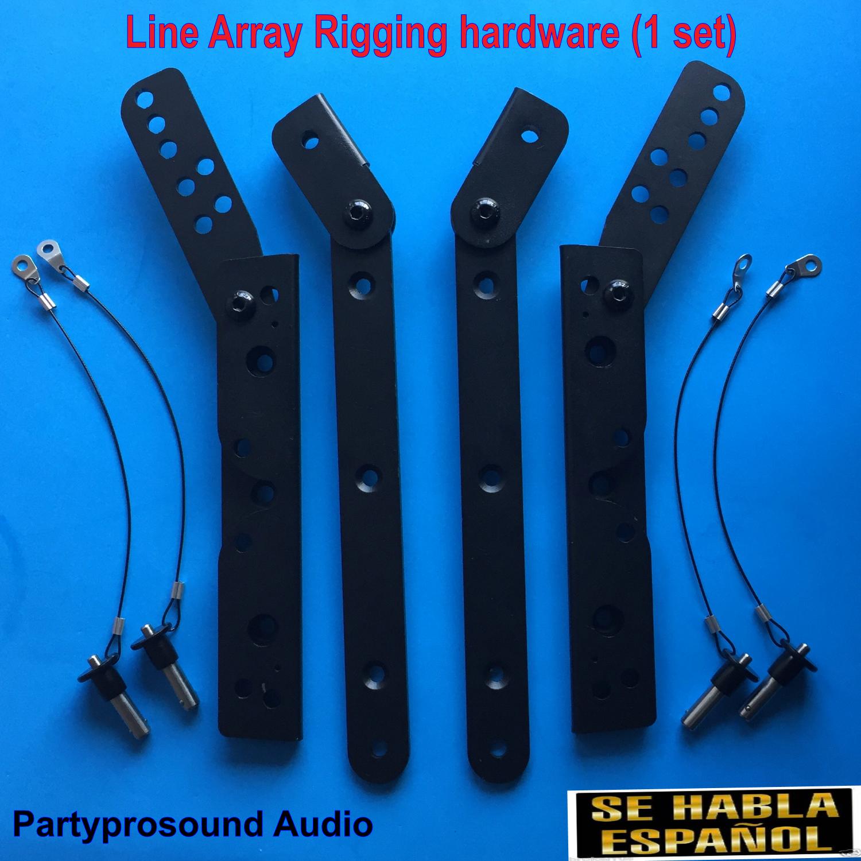 Line ar  rigging hardware, line ar  , herrajes para bocinas aereas   53