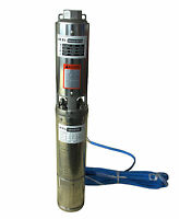 Submersible Pump 0.5hp 4'' Deep Well 230v Stainless Steel 111ft Head Max