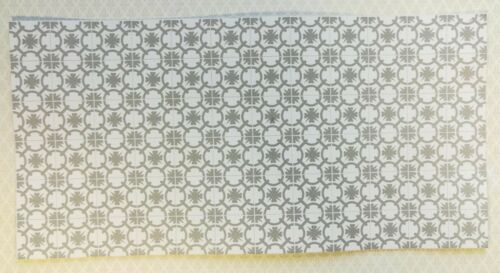 Dollhouse Miniature Gray /& White Tile Flooring Sheet 1:12 Scale Break Off Pieces